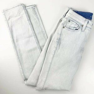 7 For All Mankind The Slim Cigarette White Jeans